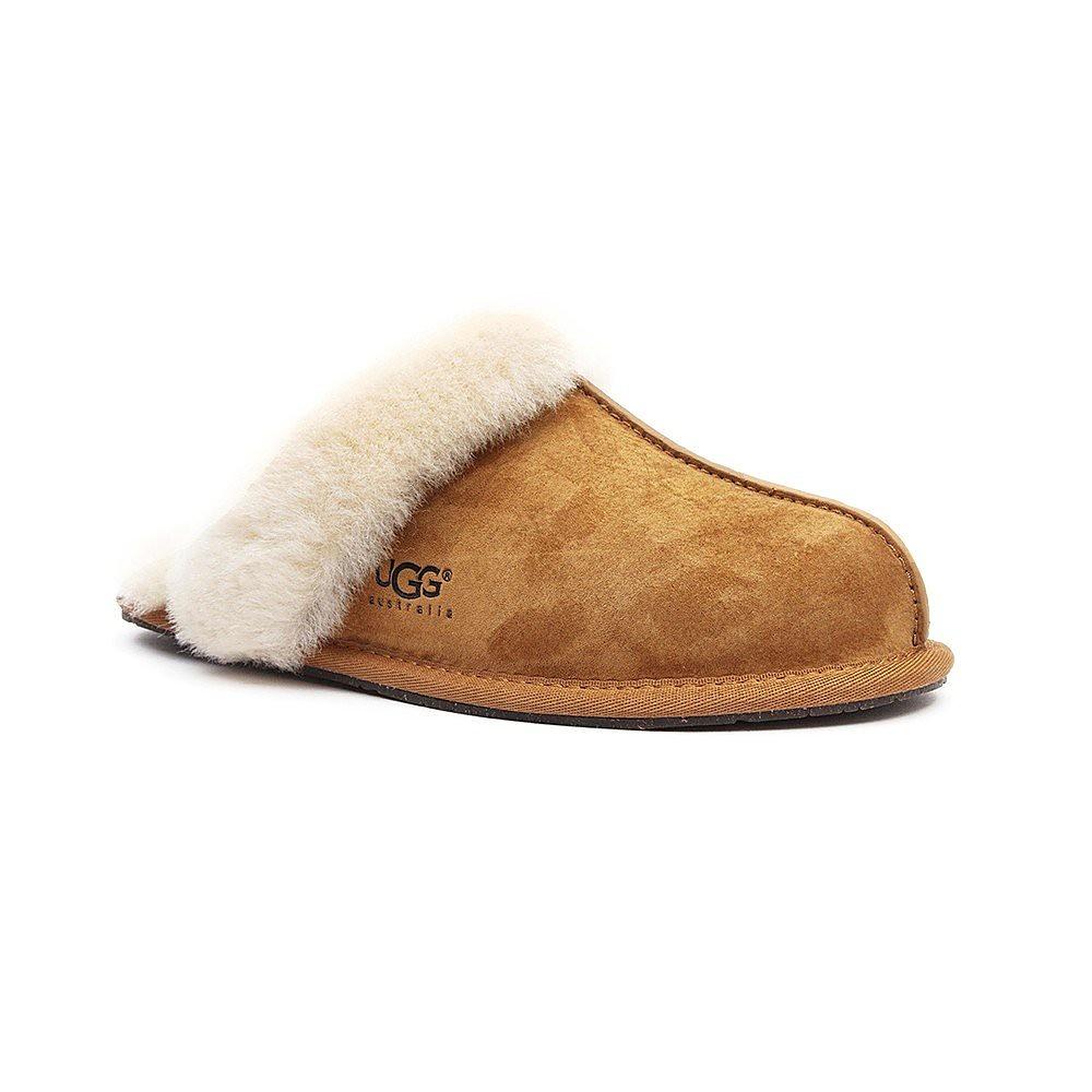 Ugg Women's Scuffette ll Sheepskin Slippers - Chestnut