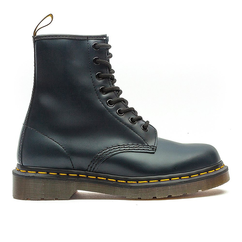 Dr Martens Men's 1460 Leather High Top Lace-Up Boots - Navy