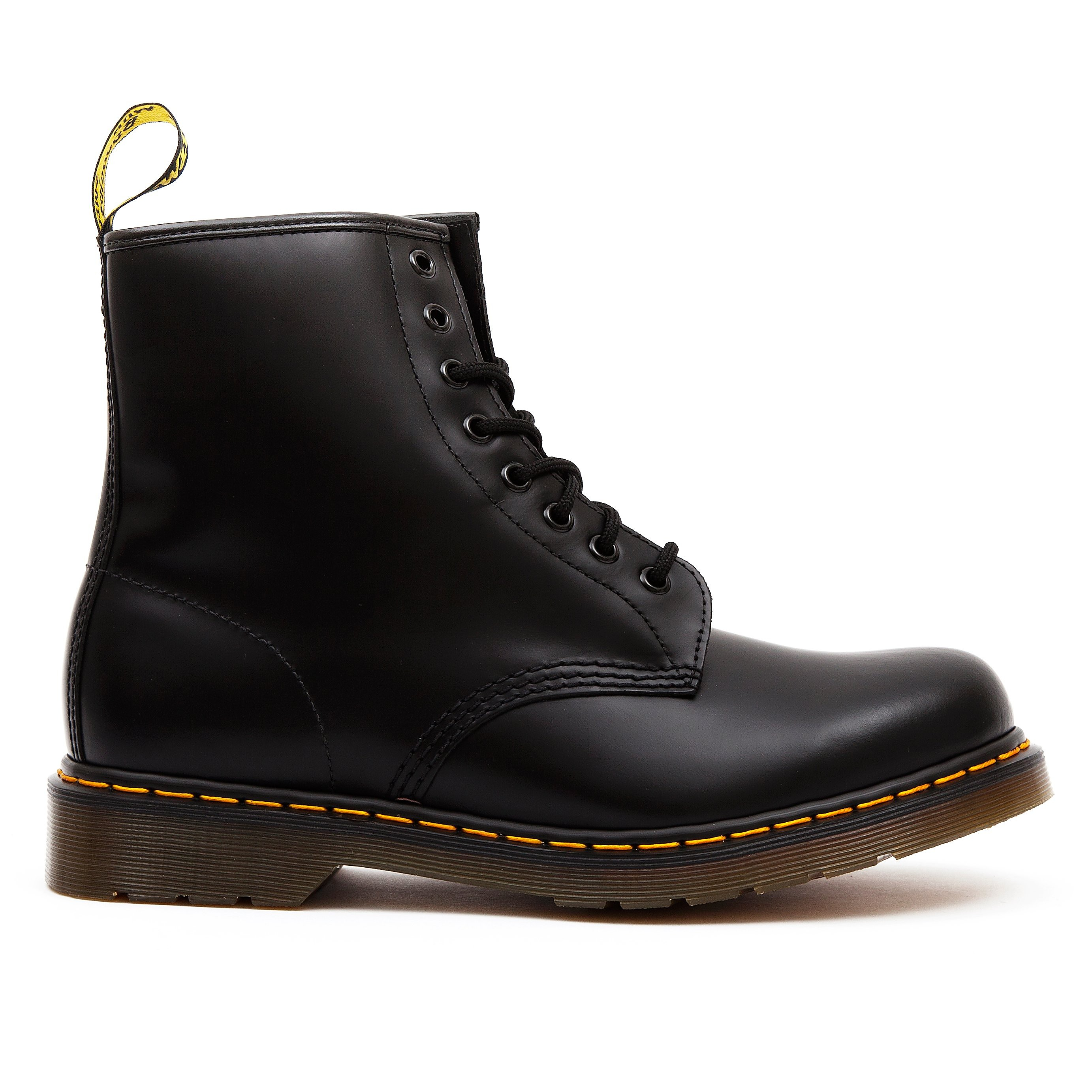 Dr Martens Women's 1460 Leather High Top Lace-Up Boots - Black