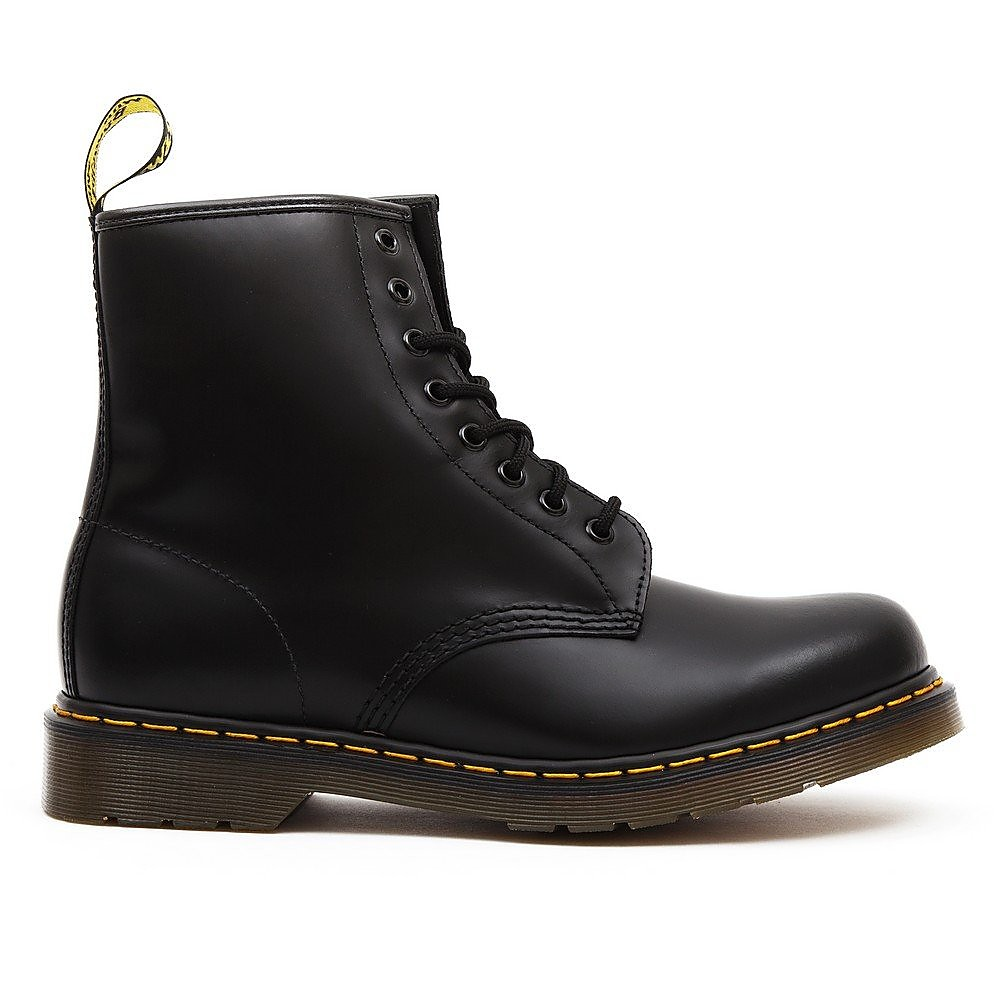 Dr Martens Men's 1460 Leather High Top Lace-Up Boots - Black