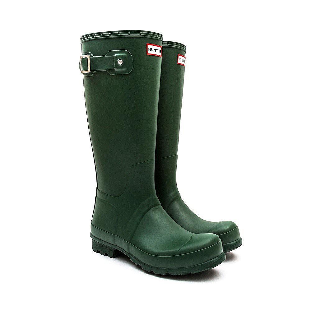 Hunter Wellies Women's Original Tall Wellies - Green