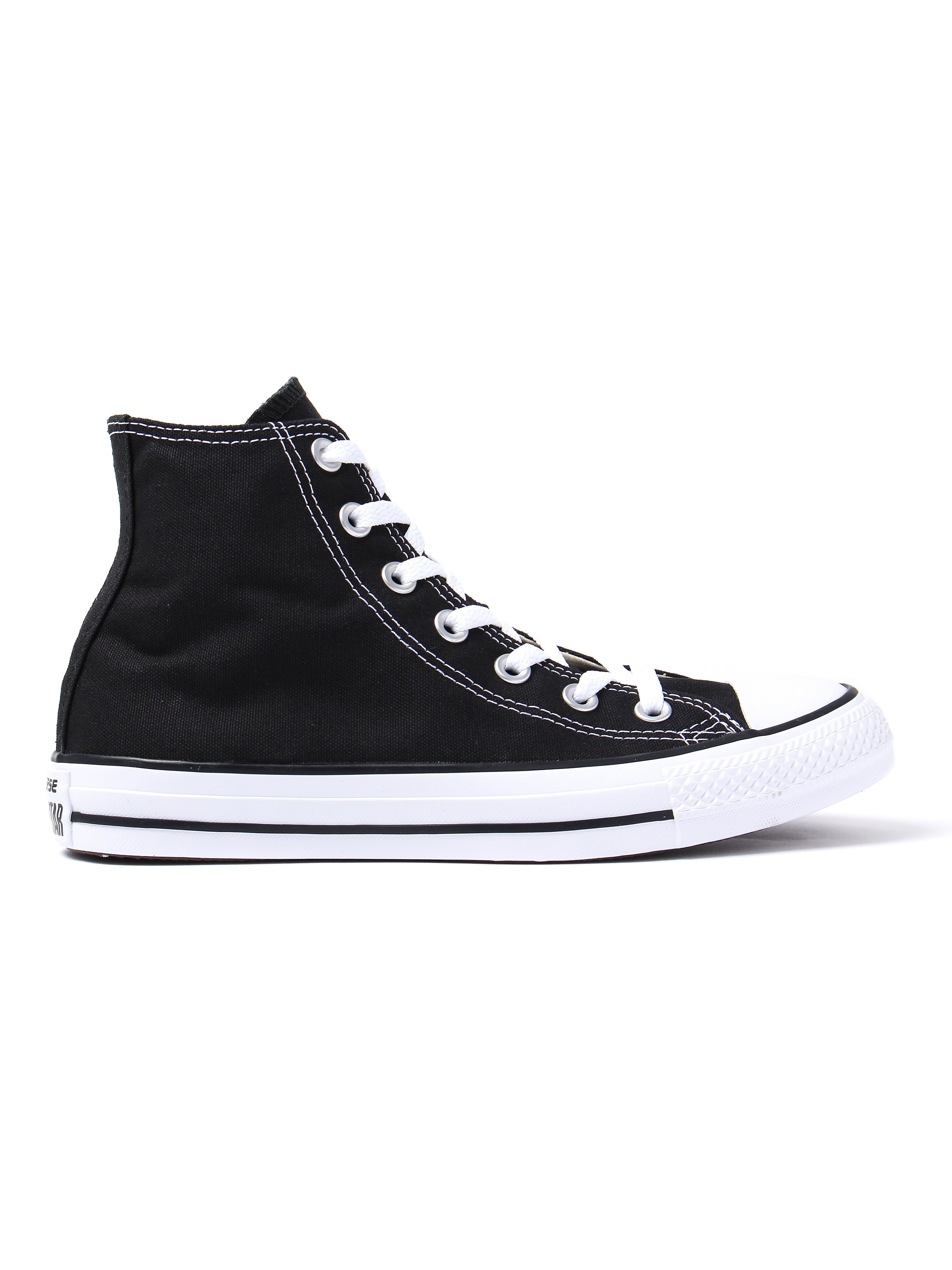 Converse Women's Chuck Taylor All Star High Top Canvas Trainers - Black
