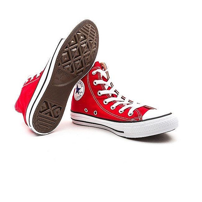 Converse Mens Chuck Taylor All Star High Top - Red