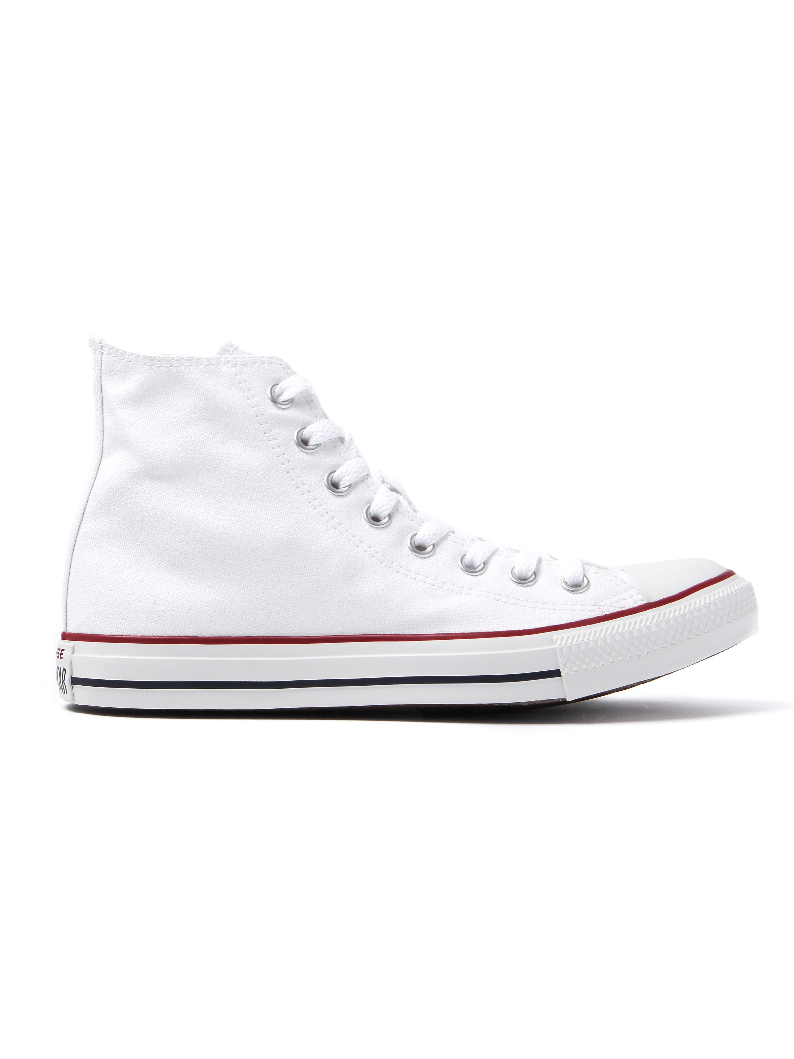 Converse Men's Chuck Taylor All Star HI Trainers - Optical White