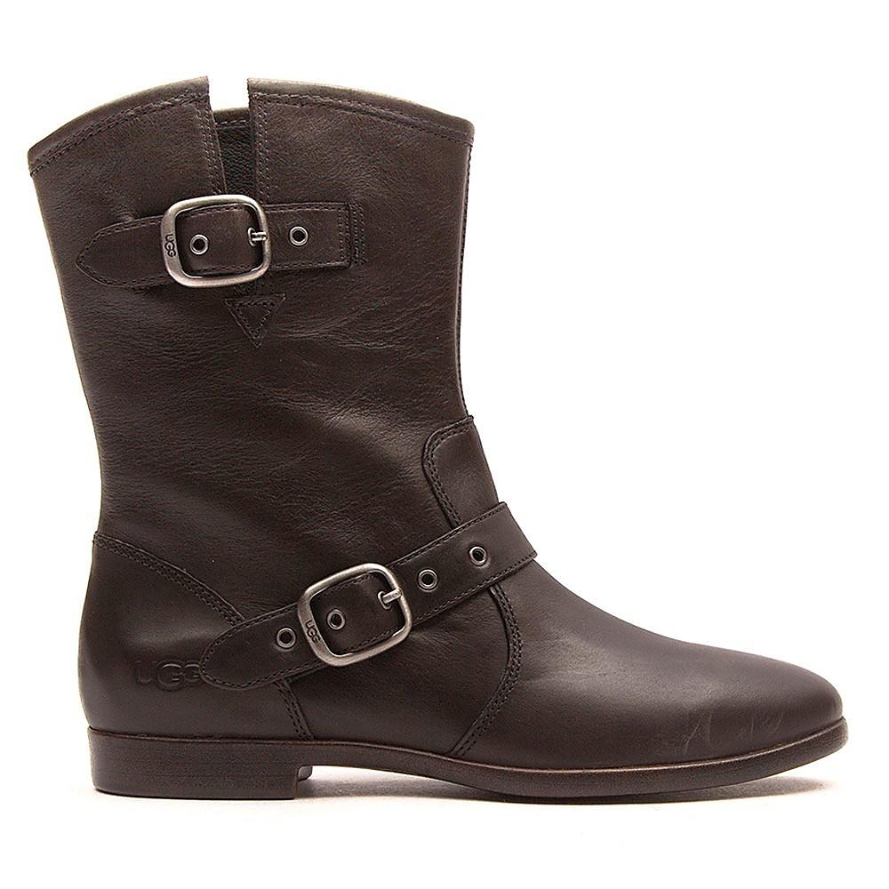 Ugg Women's Frances Leather Boots - Black