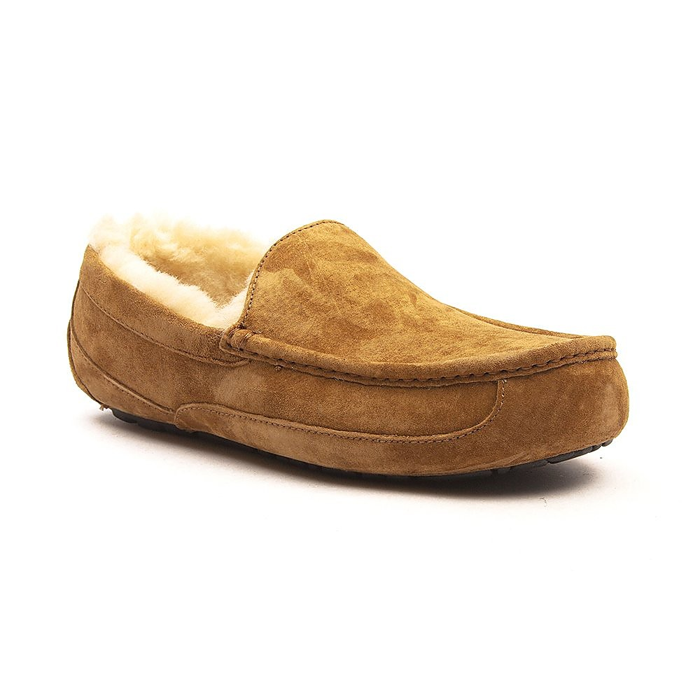 Ugg Men's Ascot Sheepskin Slippers - Chestnut