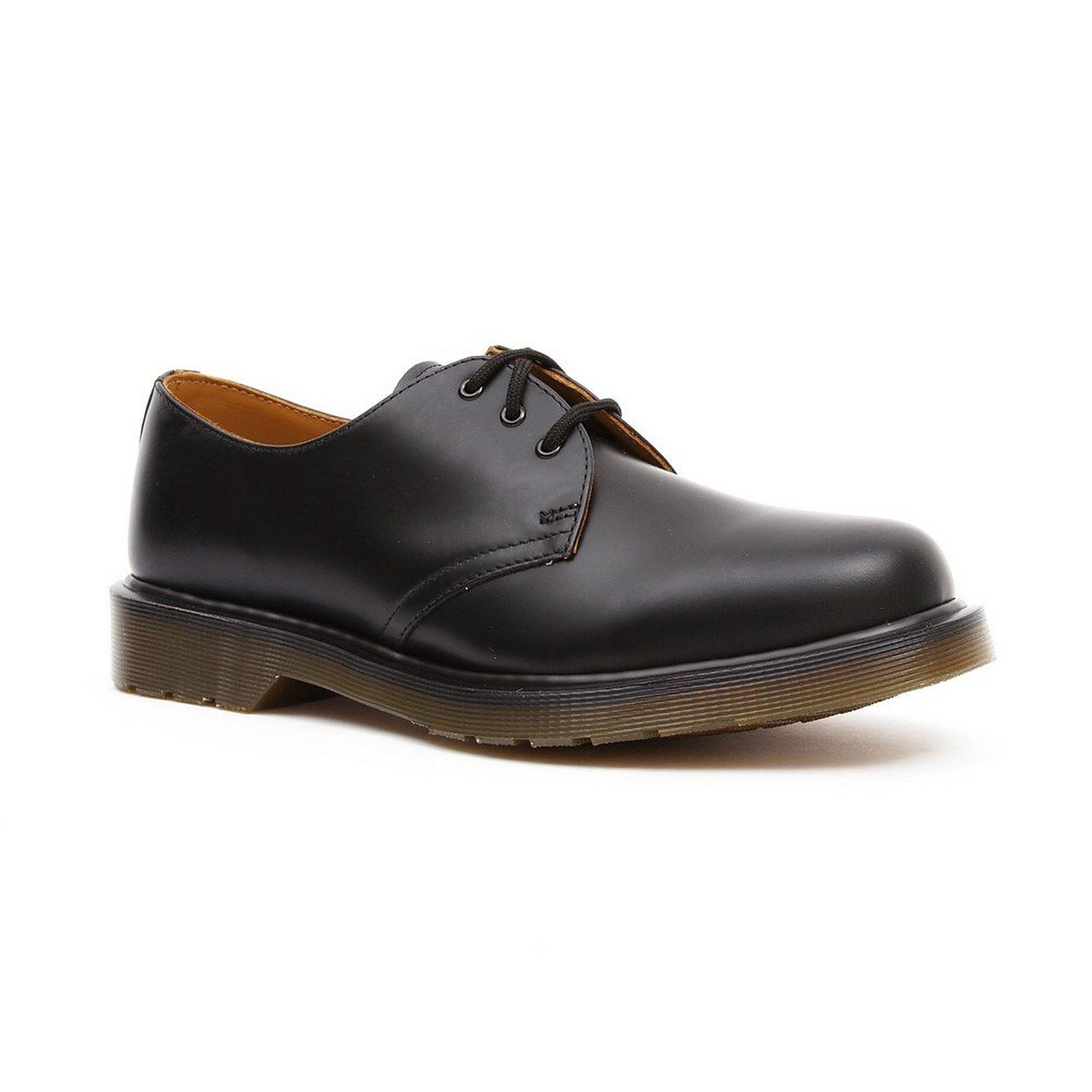 Dr Martens Men's Gibson 1461-9 Leather Shoes - Smooth Black
