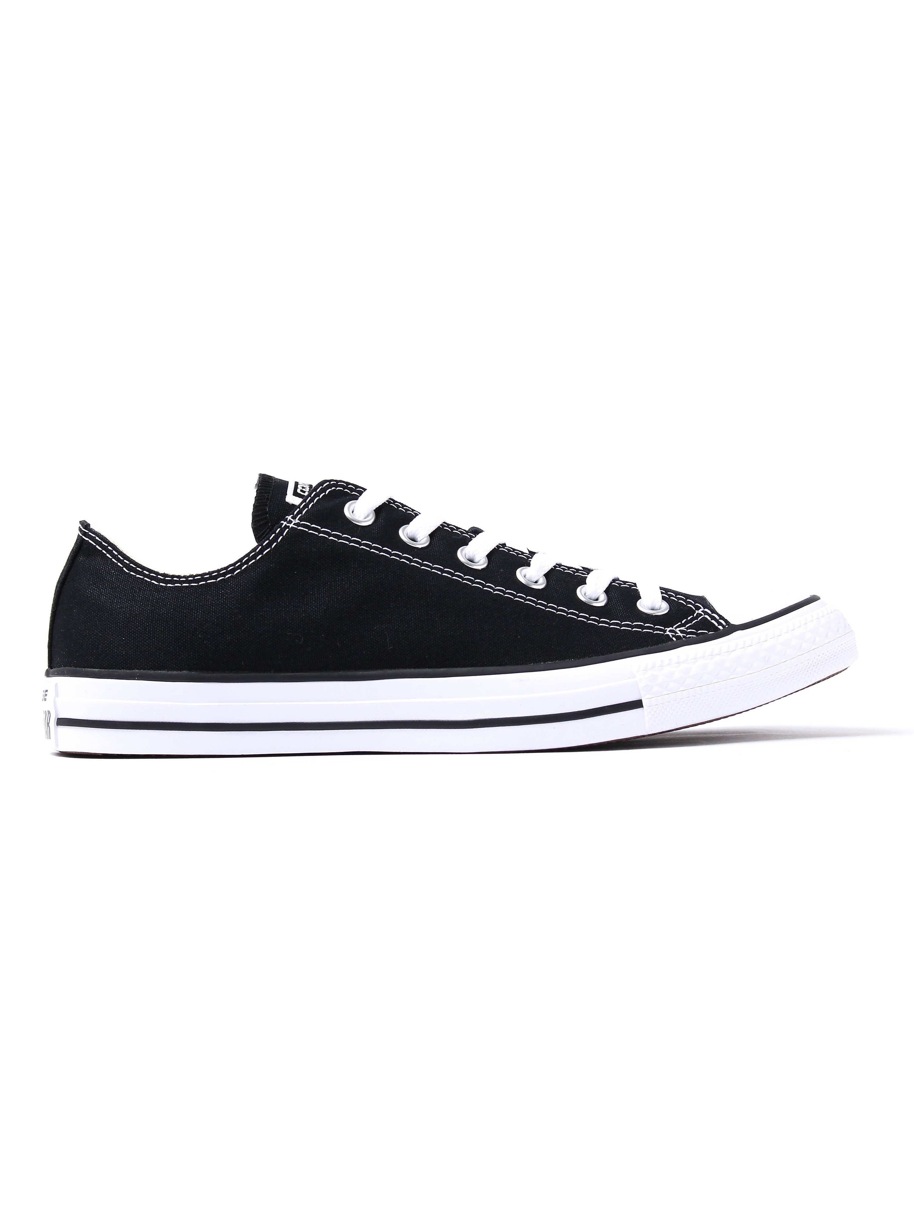 Converse Men's Chuck Taylor All Star OX Trainers - Black