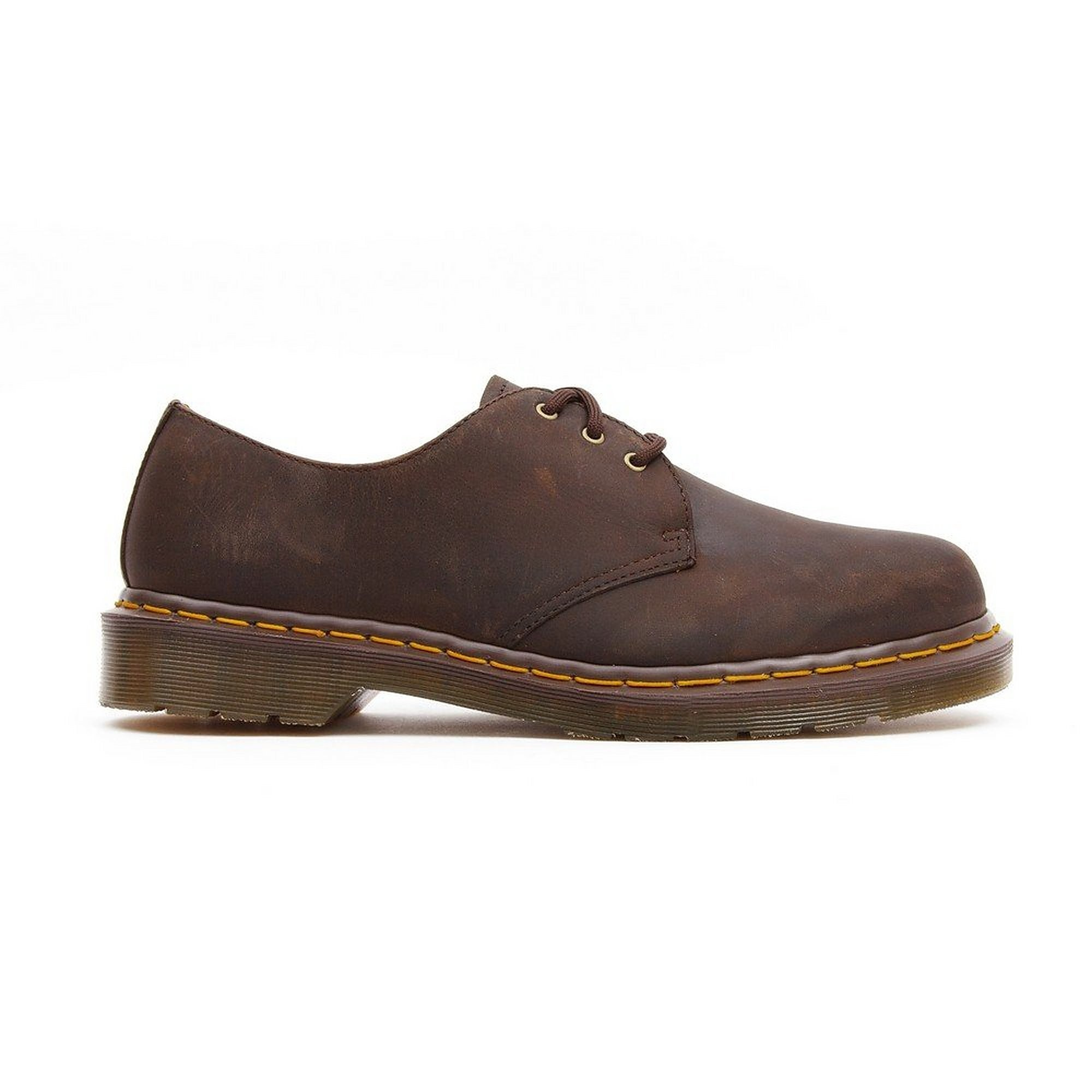 Dr Martens Mens 1461-59 Leather Shoes - Brown