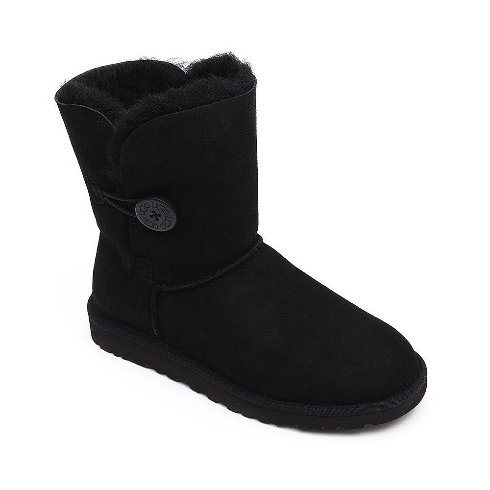 Ugg Womens Bailey Button - Black