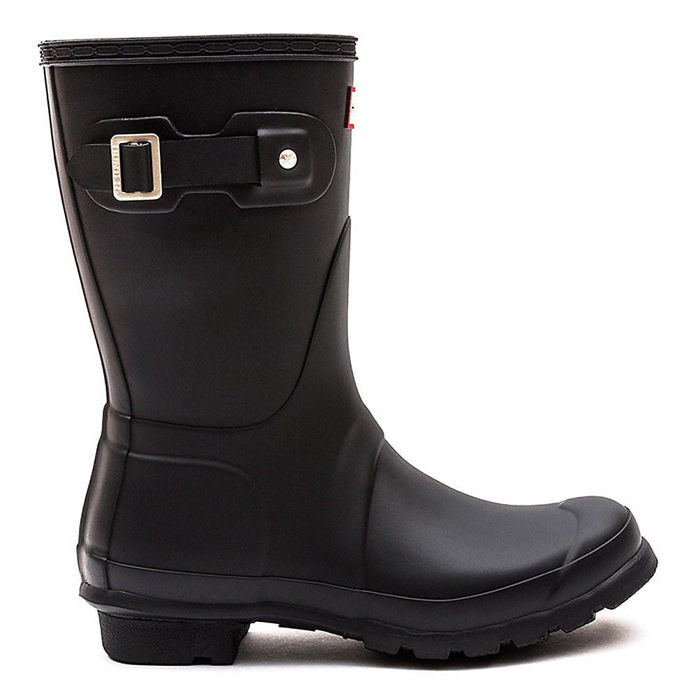 Hunter Wellies Women's Original Short Wellington Boots - Black