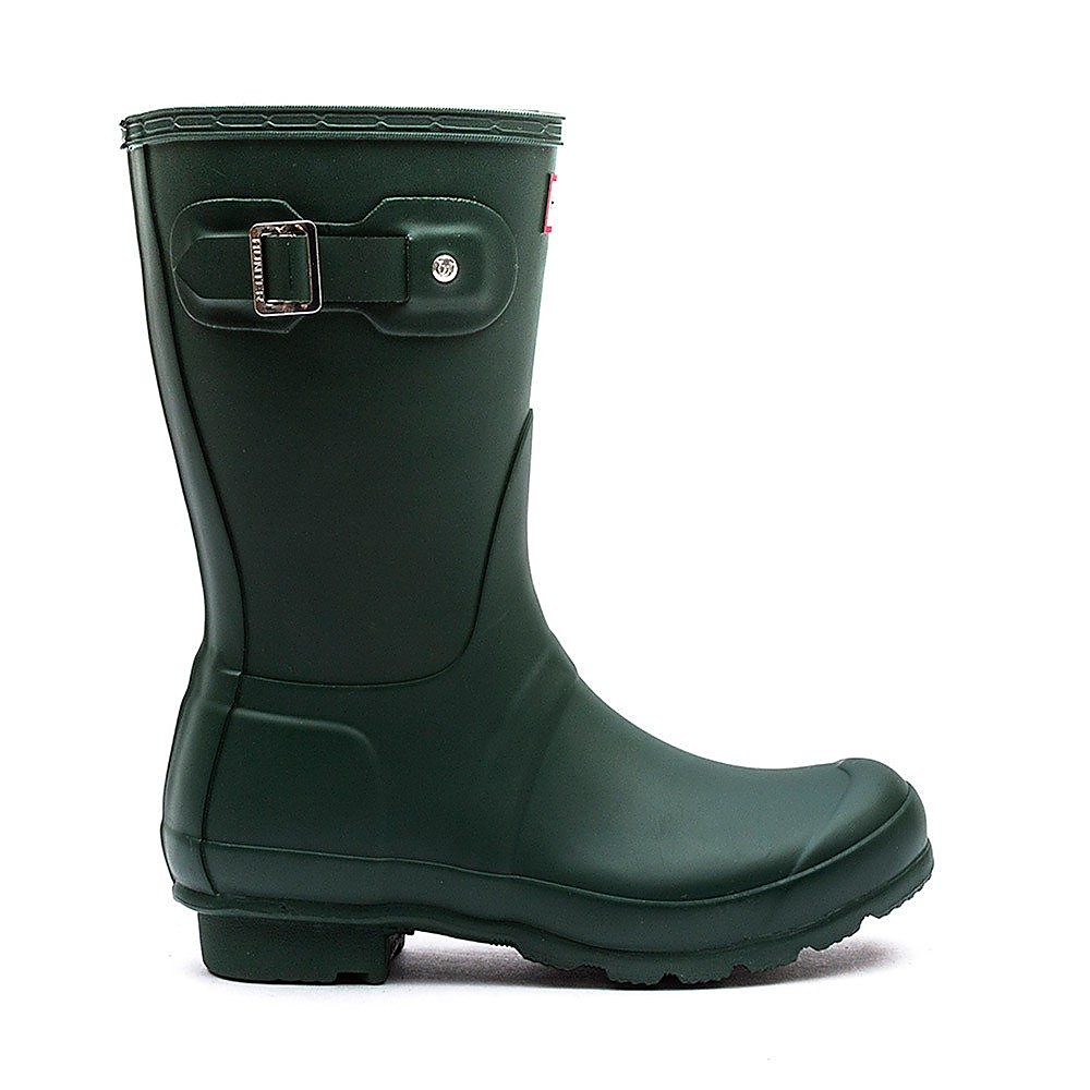 Hunter Wellies Men's Original Short Wellies - Green