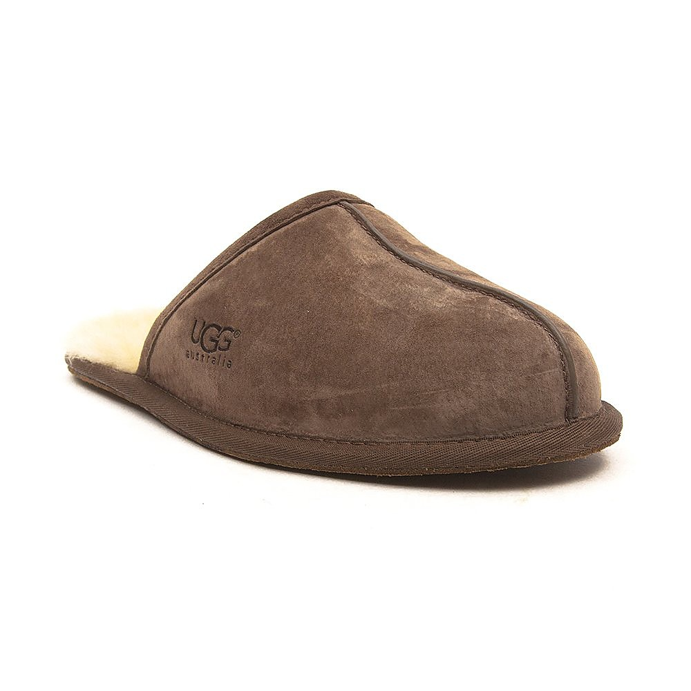 Ugg Men's Scuff Sheepskin Slippers - Espresso