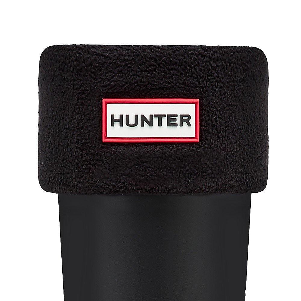 Hunter Wellies Unisex Wellie Socks - Black