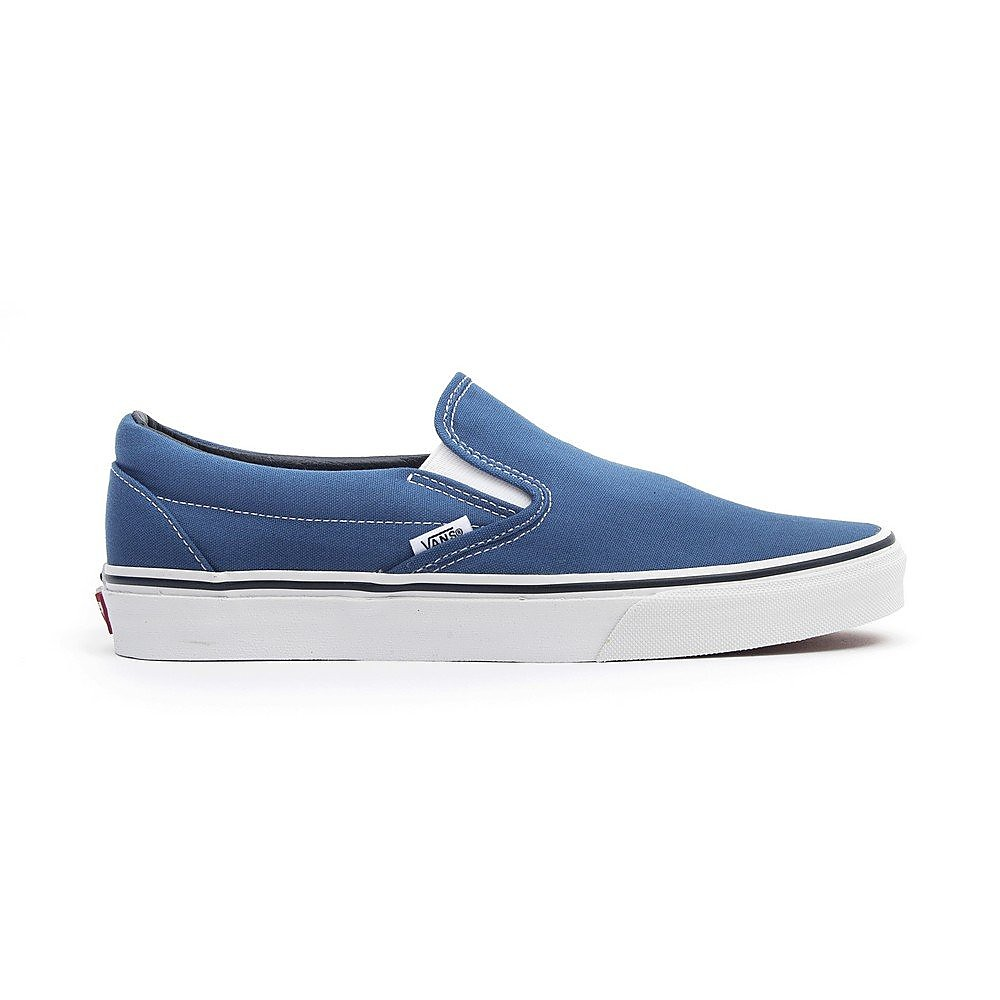 Vans Womens Classic Slip-On Trainers - Blue