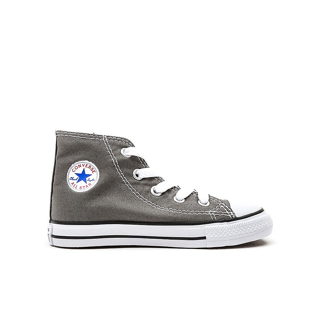 Converse Infant Chuck Taylor All Star HI Trainers - Charcoal