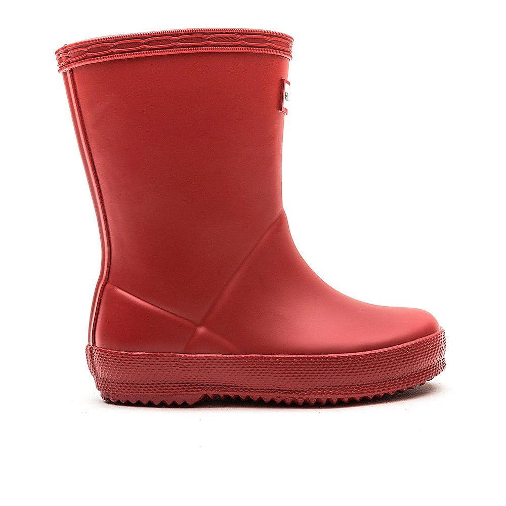 Hunter Wellies Infant First Classic Wellington Boots - Military Red