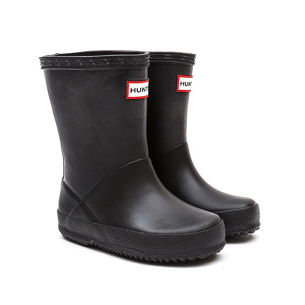 Hunter Wellies Infant First Classic Rubber Wellington Boots - Black
