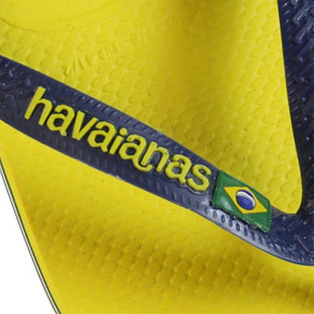 Havaianas Women's Brasil Logo Flip Flops - Citrus