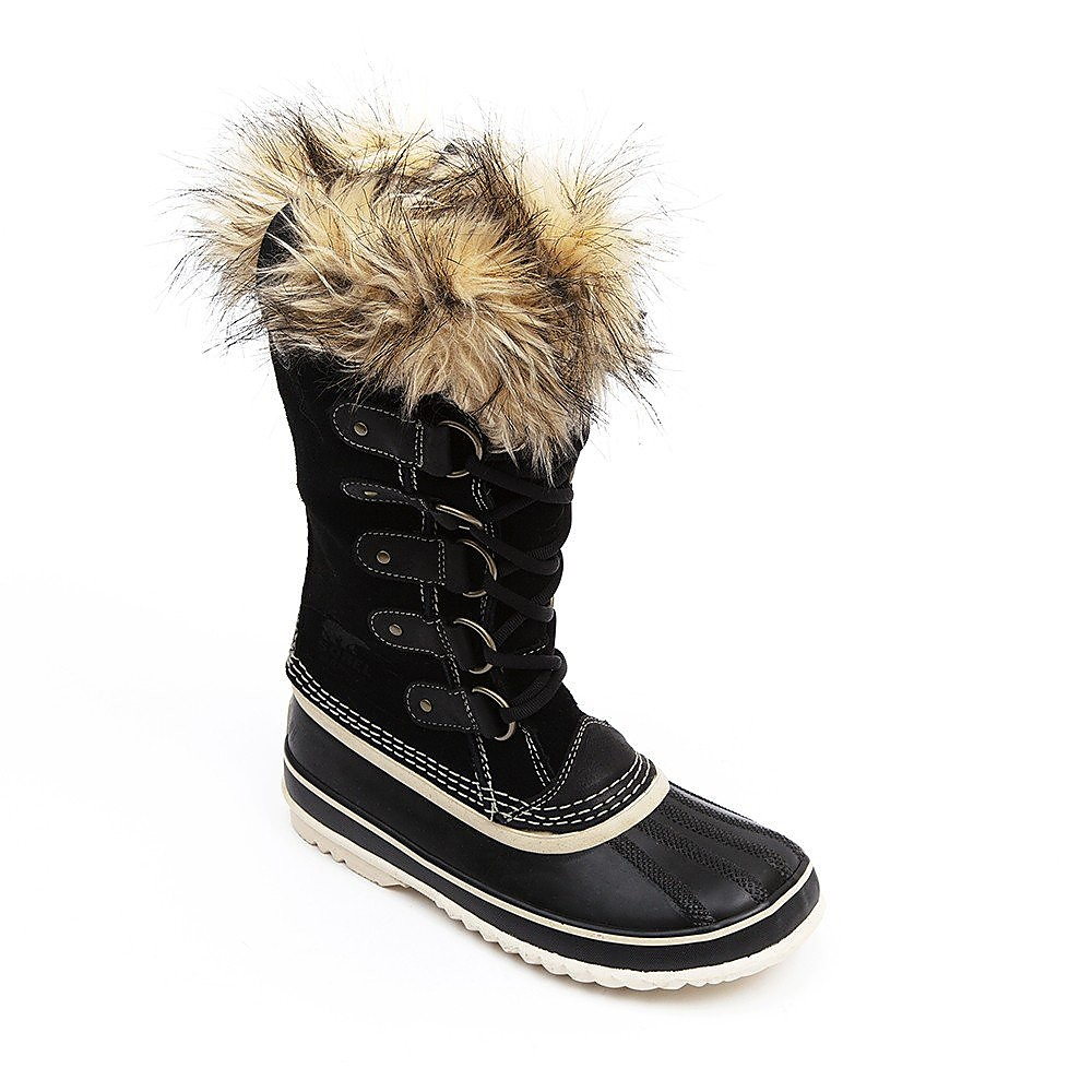 Sorel Women's Joan of Arctic Suede Leather Boots - Black