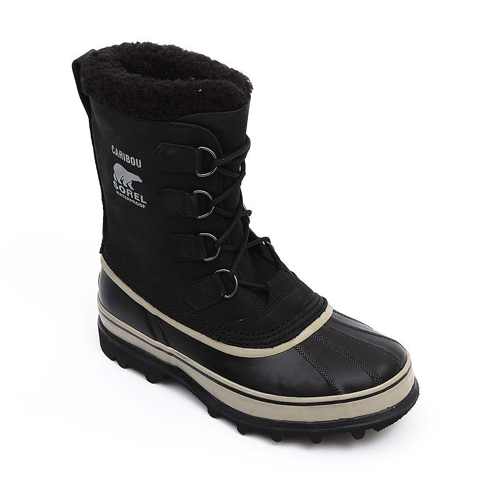 Sorel Caribou Mens Black /