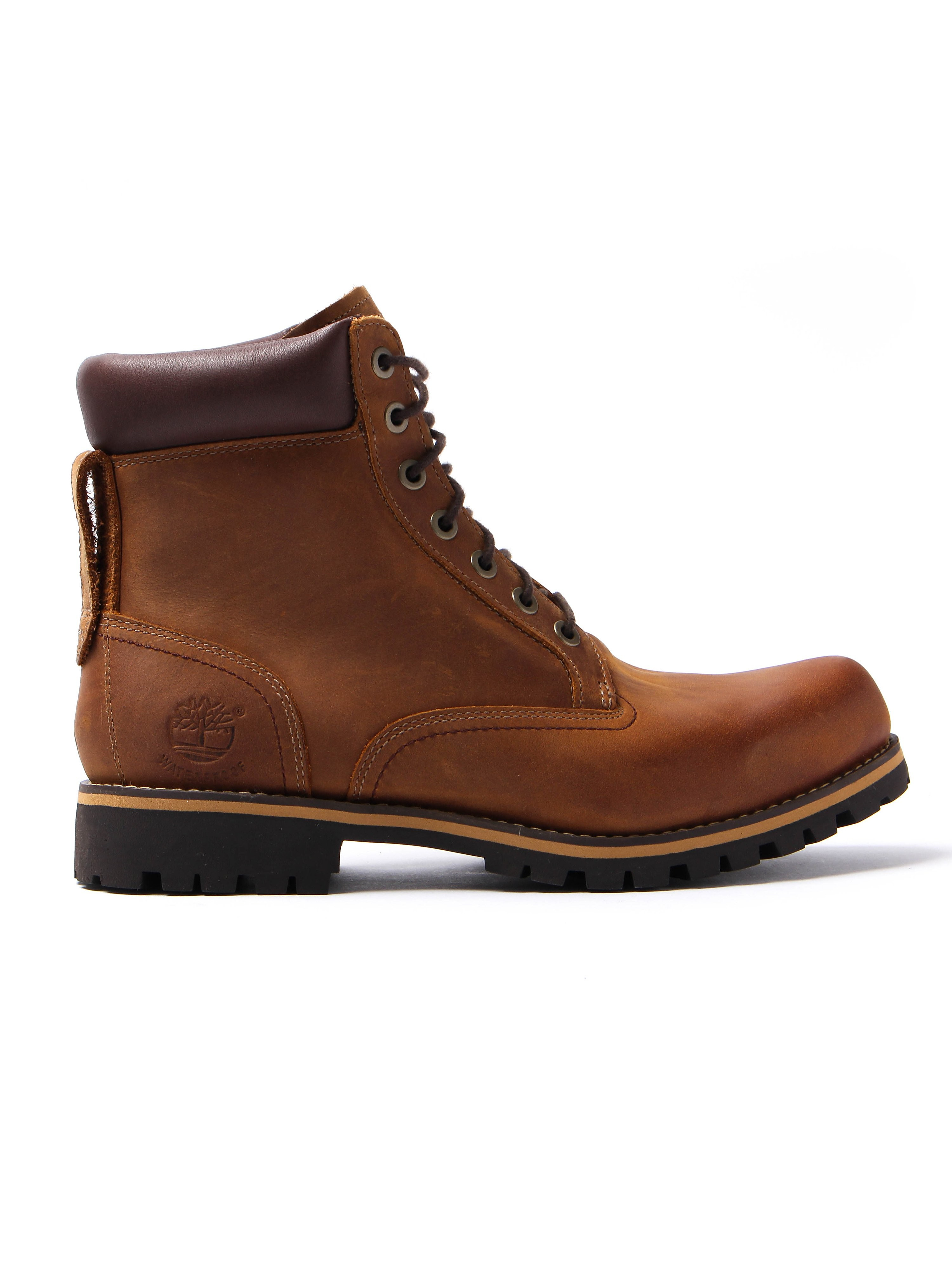 Timberland Mens 6 Inch Rugged - Copper Roughcut