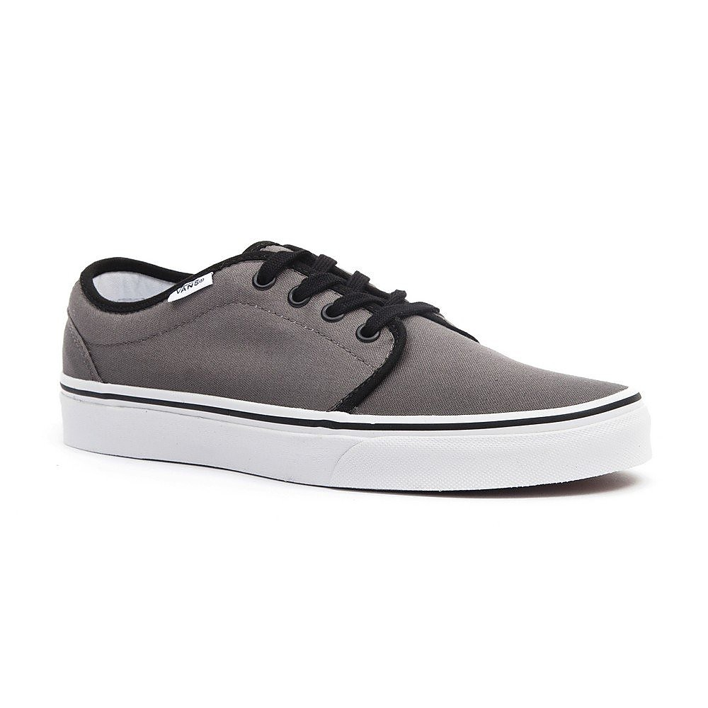 Vans  Vans 106 Vulcanized Womens Trainers - Pewter/Black