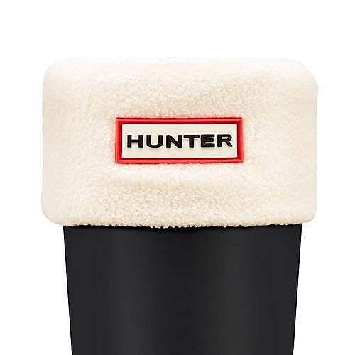 Hunter Wellies Unisex Short Welly Socks -  Cream