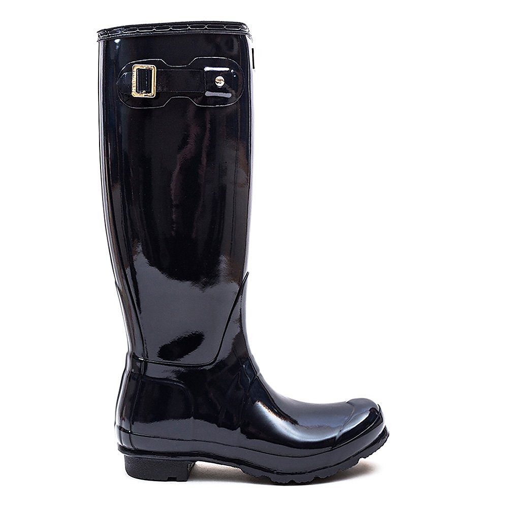 Hunter Wellies Women's Original Tall Wellington Boots - Navy Gloss