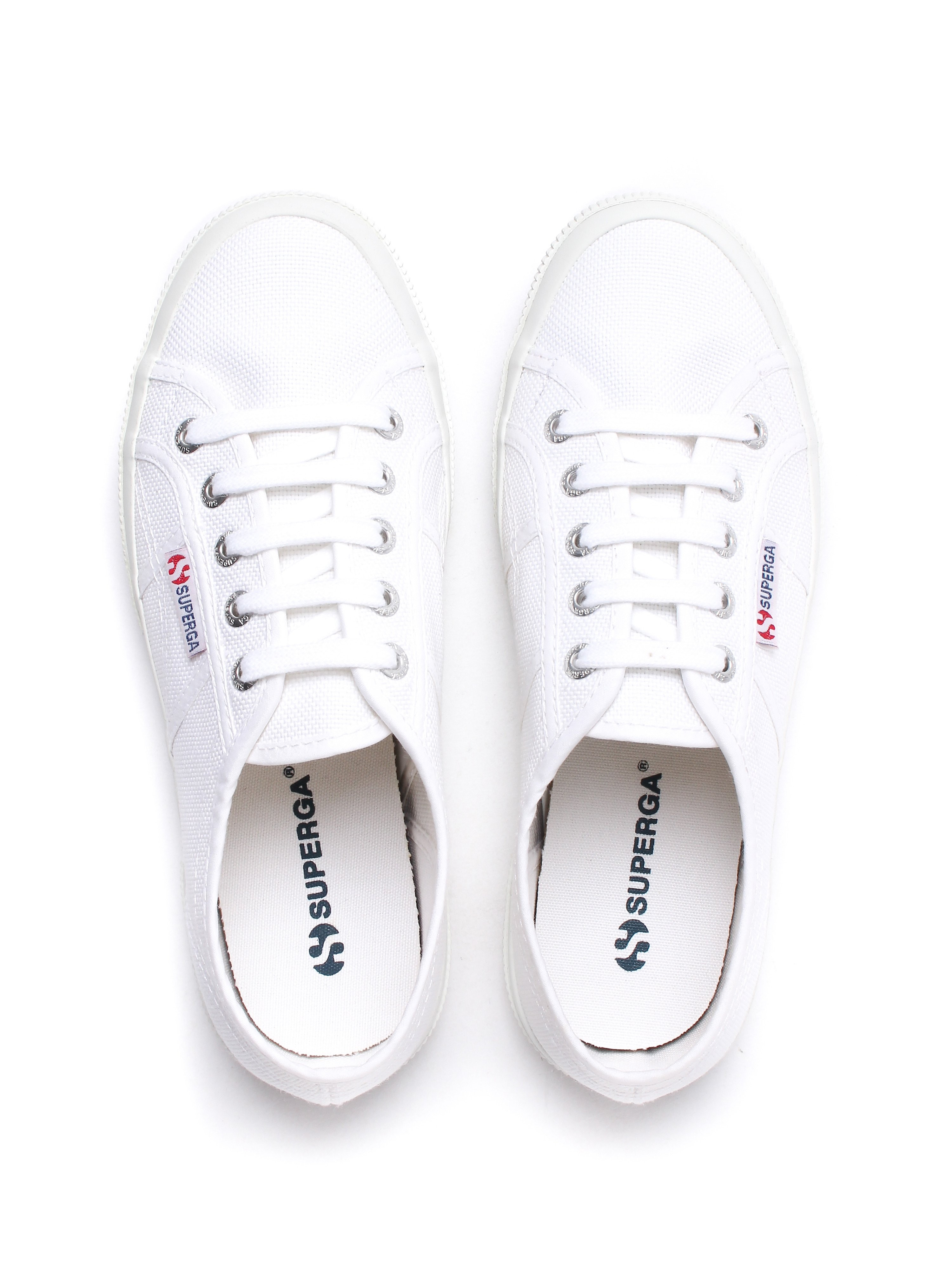 Superga Women's 2750 Cotu Classic Canvas Trainers - White