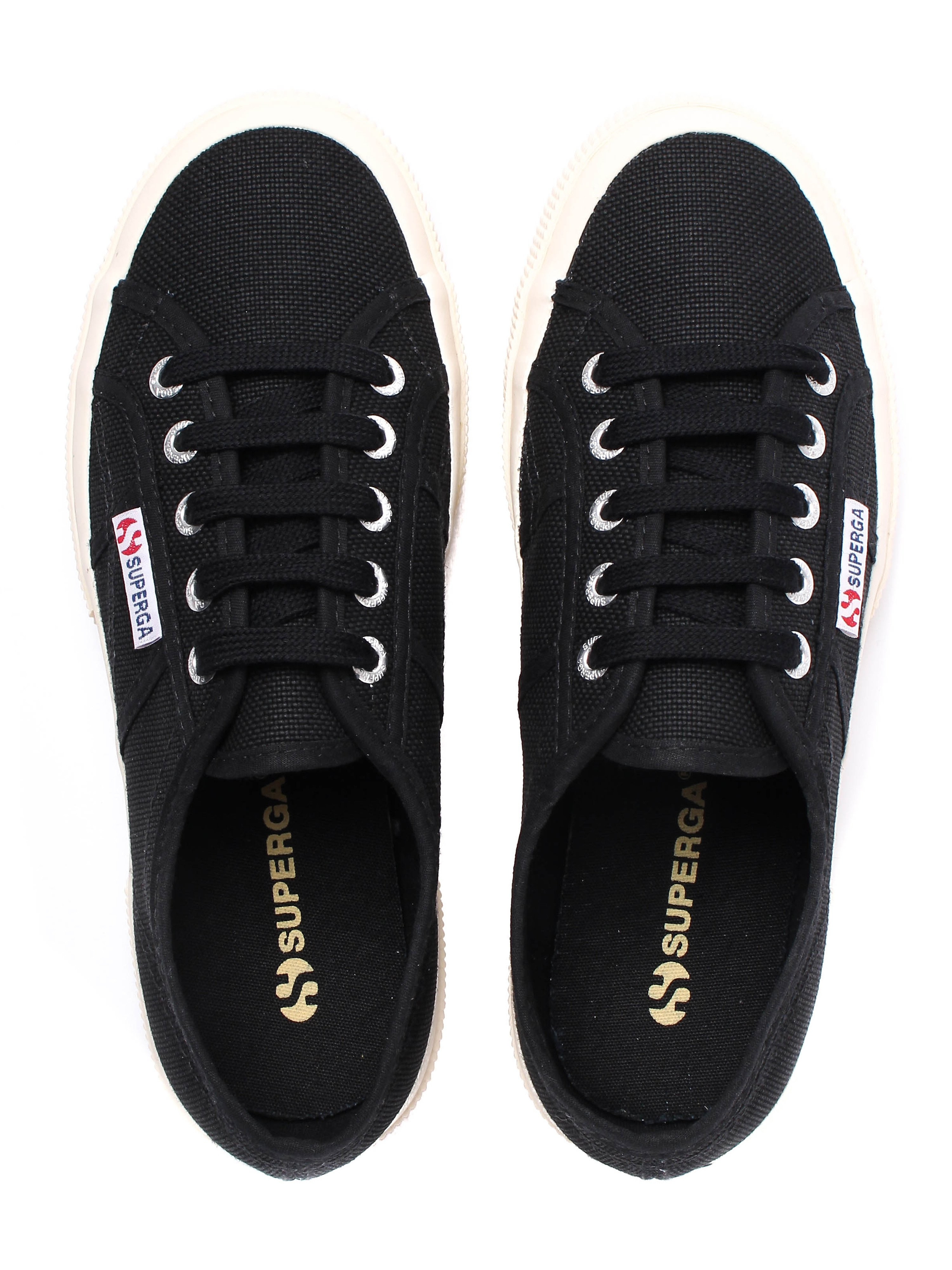 Superga Women's 2750 Cotu Canvas Trainers - Black