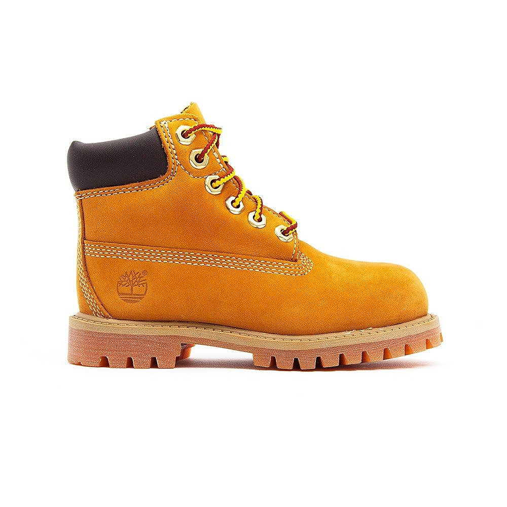 Timberland Junior 6 Inch Premium - Wheat Nubuck
