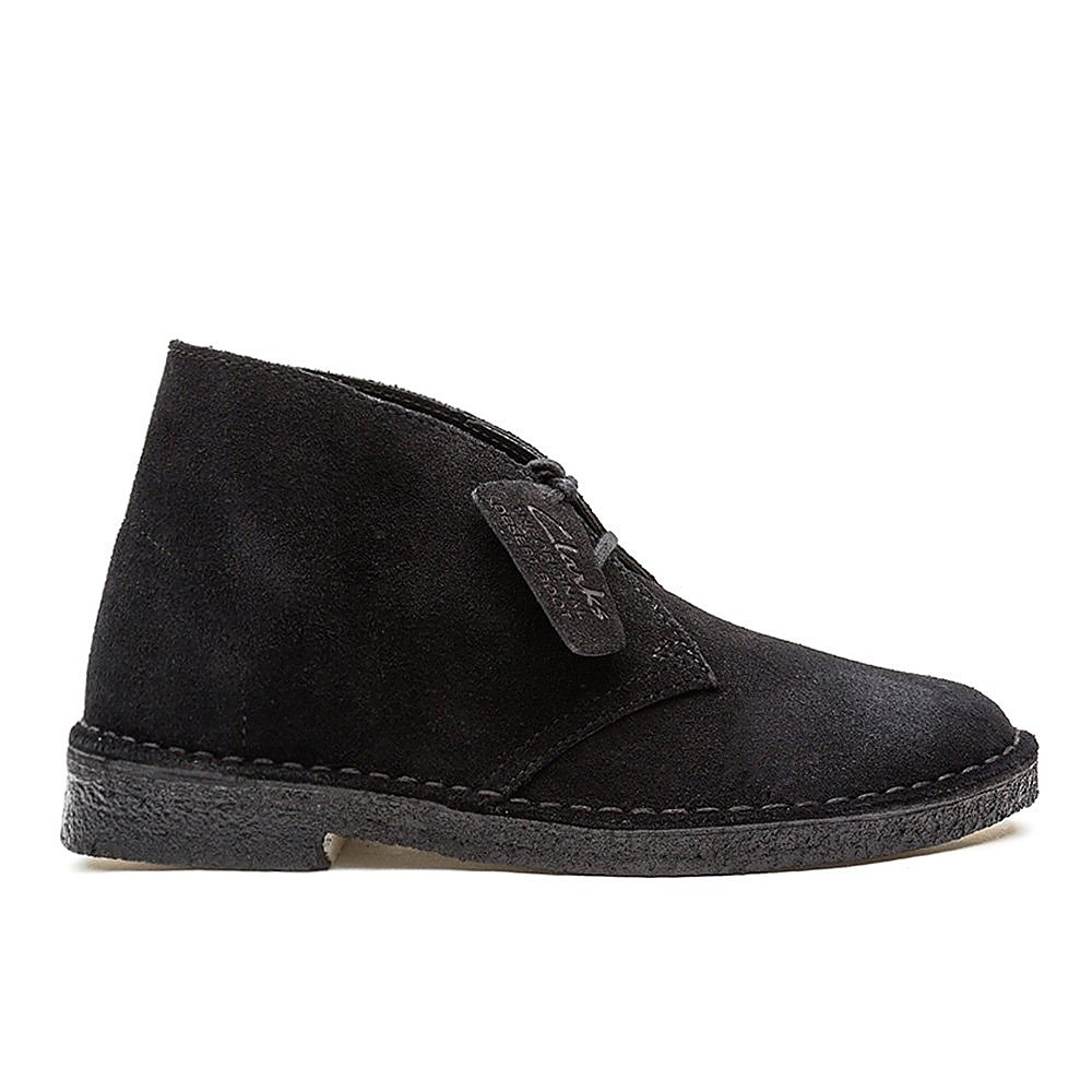 Clarks Originals Womens Desert Boot - Black
