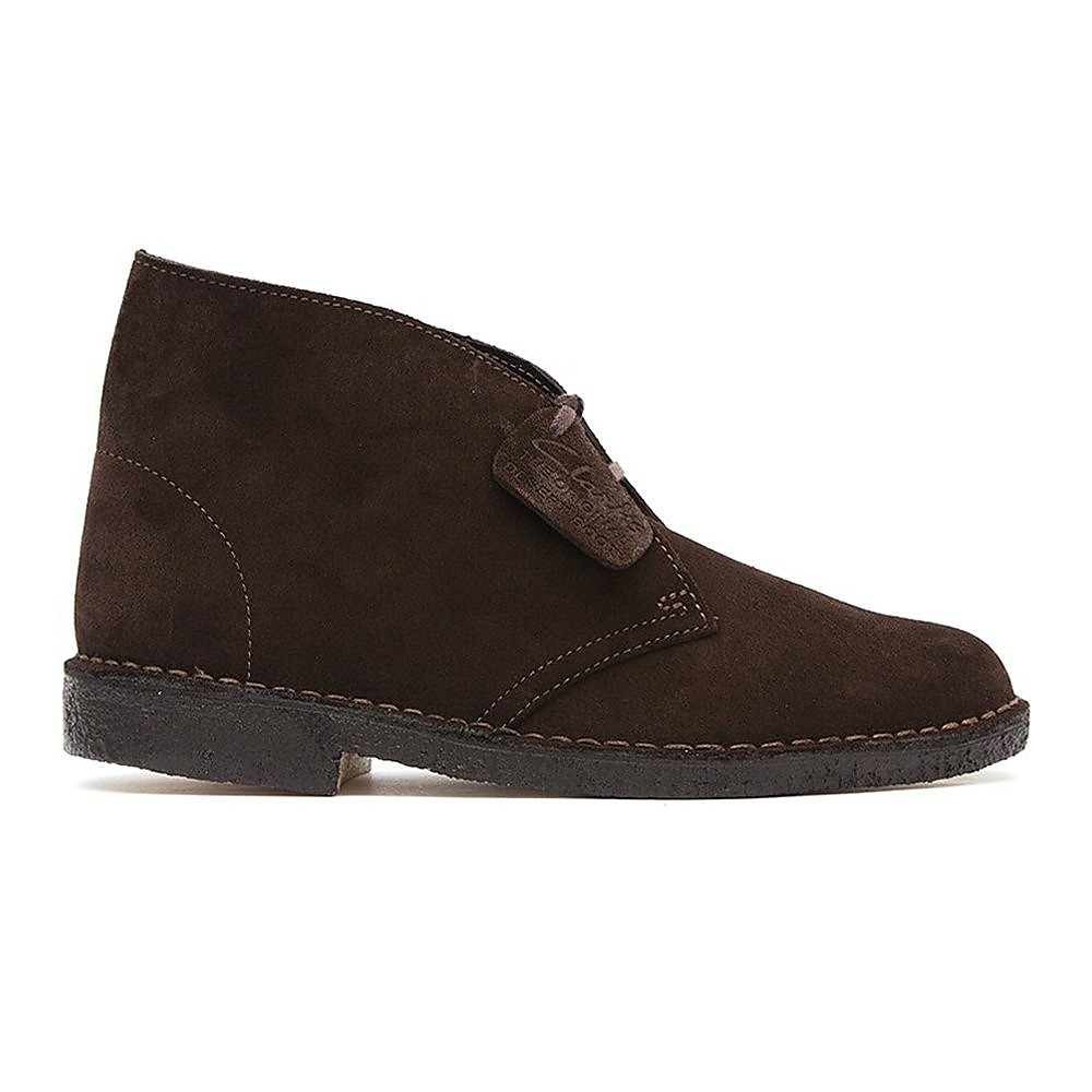 Clarks Desert Boot Womens Brown