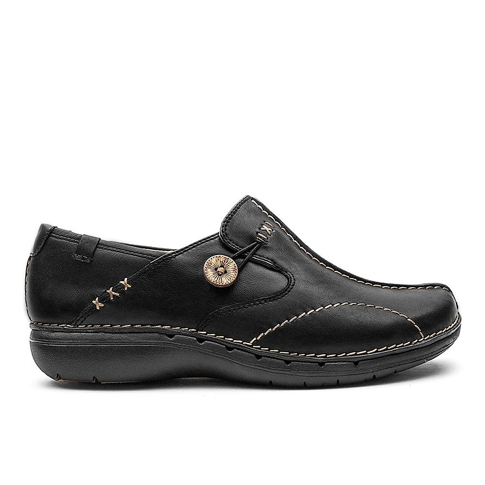 Clarks Un Loop Womens Black