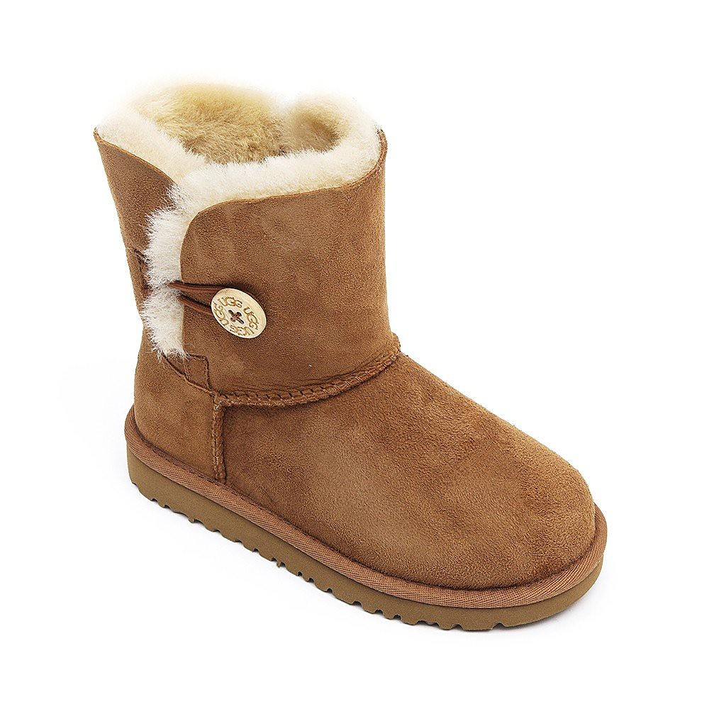 Ugg Infant Bailey Button - Chestnut