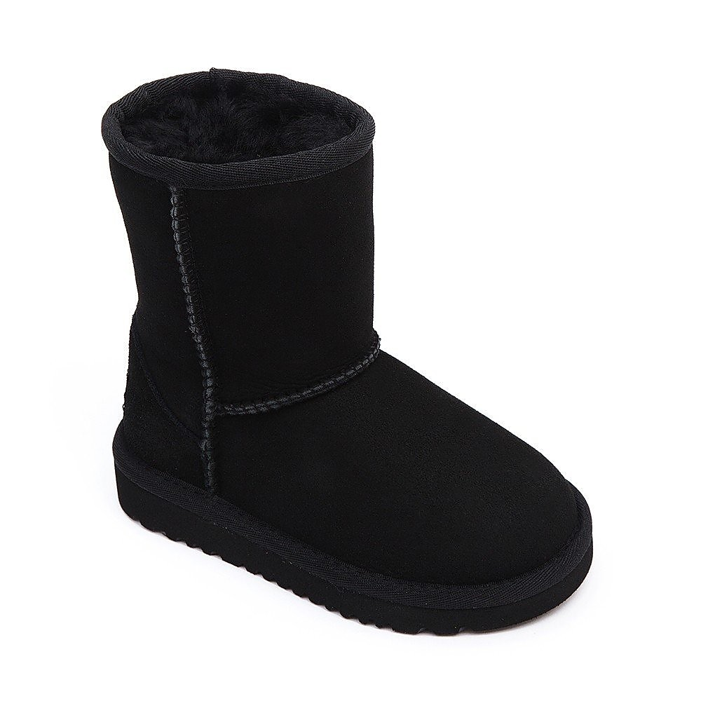 Ugg Infant Classic Short Sheepskin Boots - Black