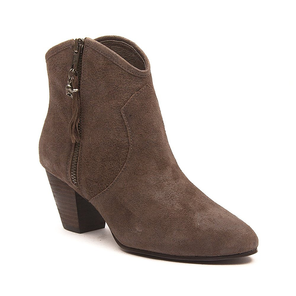 Ash Women's Jess Topo Broken Reverse Suede Ankle Boot - Chocolate