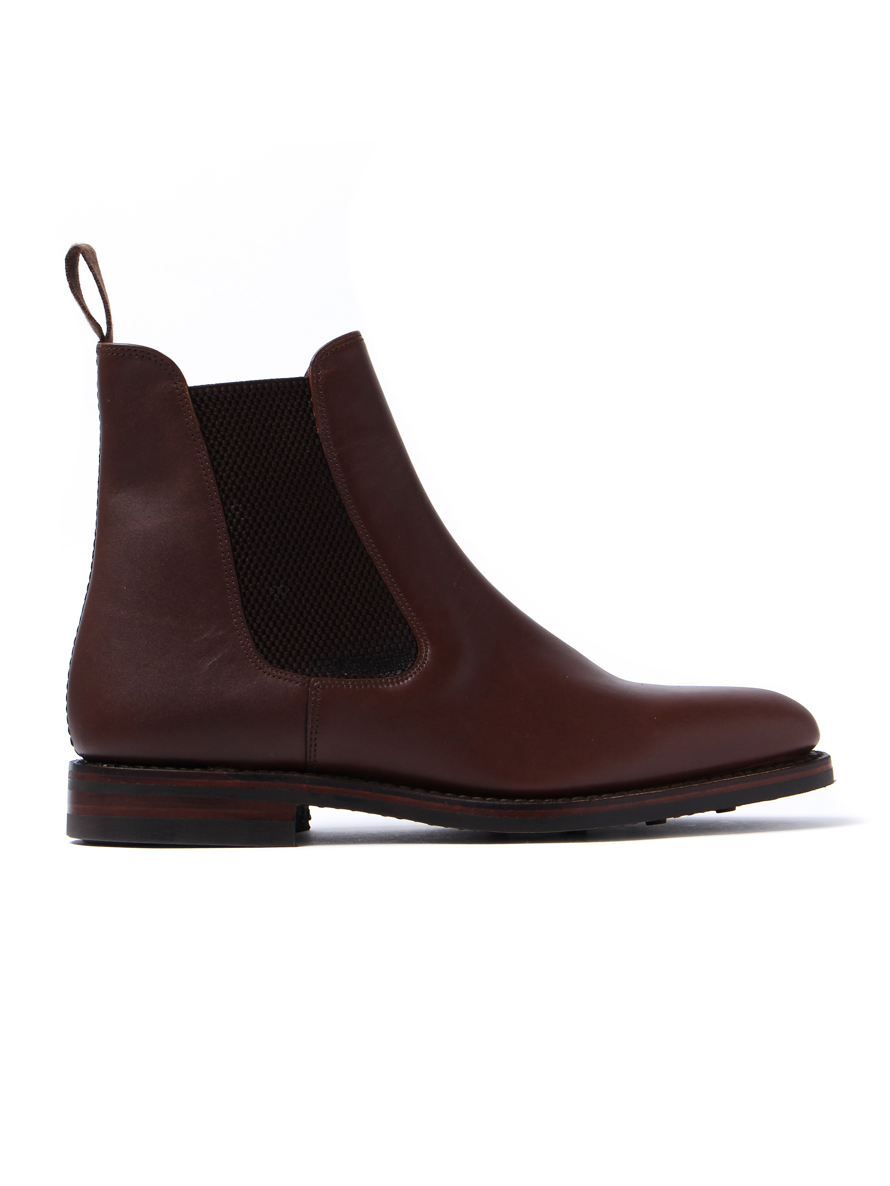 Loake Men's Blenheim Waxy Leather Chelsea Boots - Brown