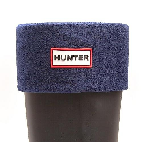 Hunter Wellies Unisex Short Welly Socks - Navy