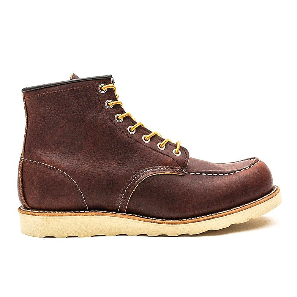 Red Wing Moc Toe Boot Mens Dark
