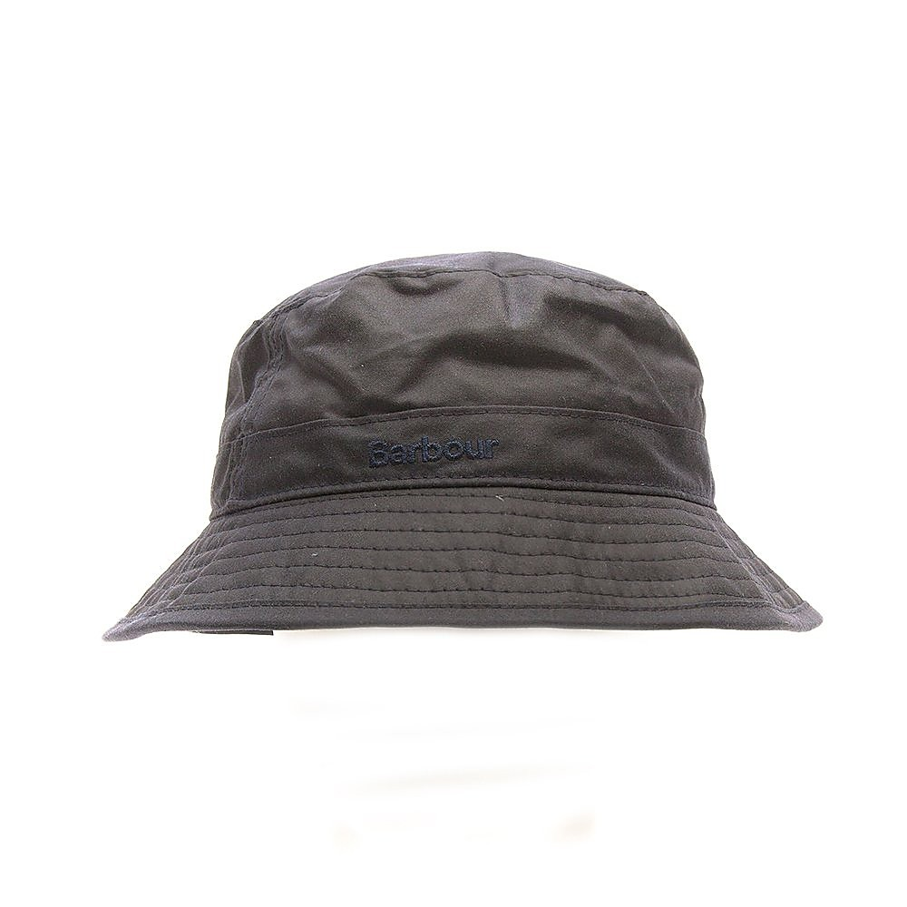 Barbour Mens Wax Sports Hat - Navy
