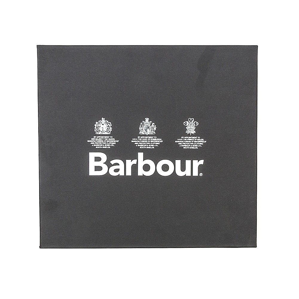 Barbour Scarf and Gloves Gift Box - Grey - One