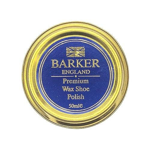Barker Quality Wax Shoe Polish - Burgundy