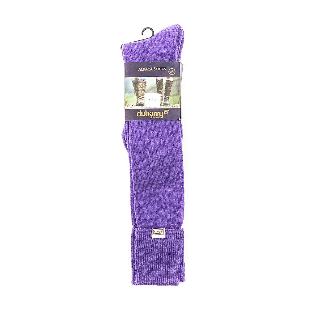 Dubarry Womens Alpaca Socks - Purple