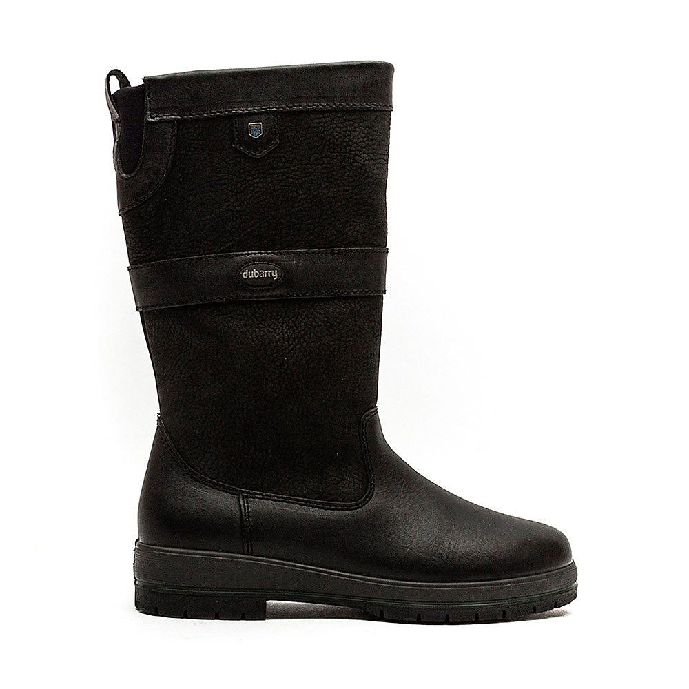 Dubarry Women's Kildare Mid Height Leather Boots - Black