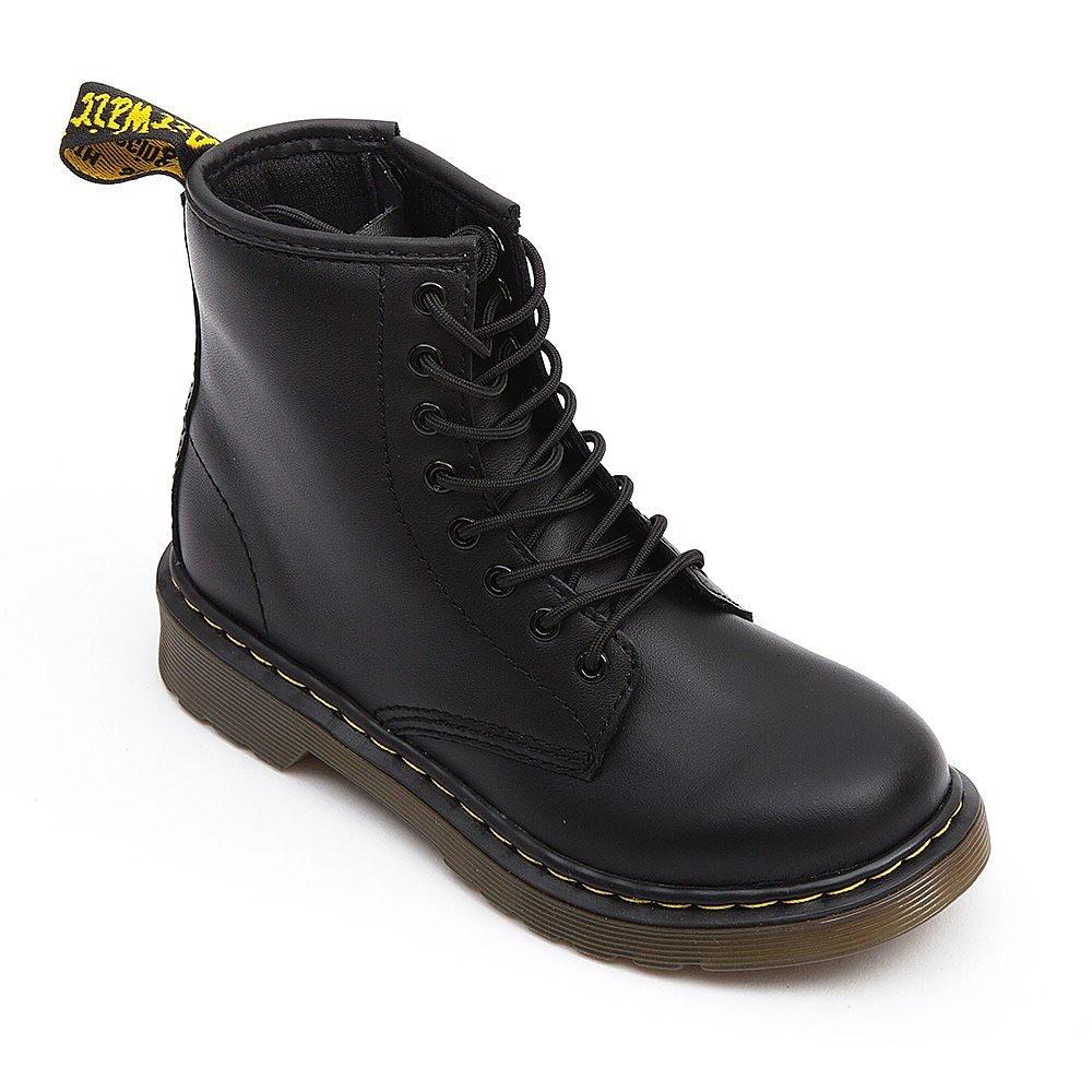 Dr Martens Delaney Softy Kids Boots - Black