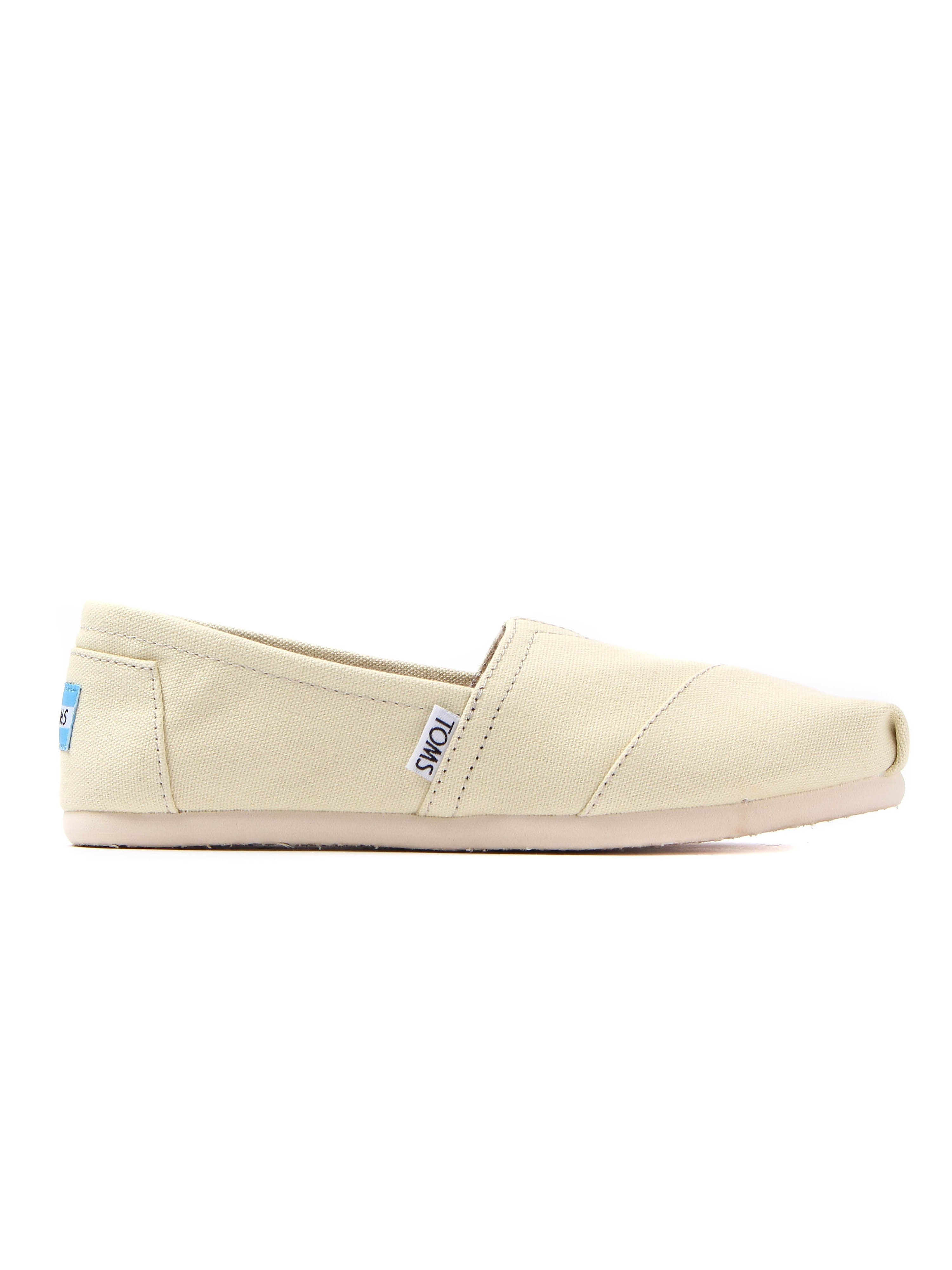Toms Classic Womens - Natural Canvas