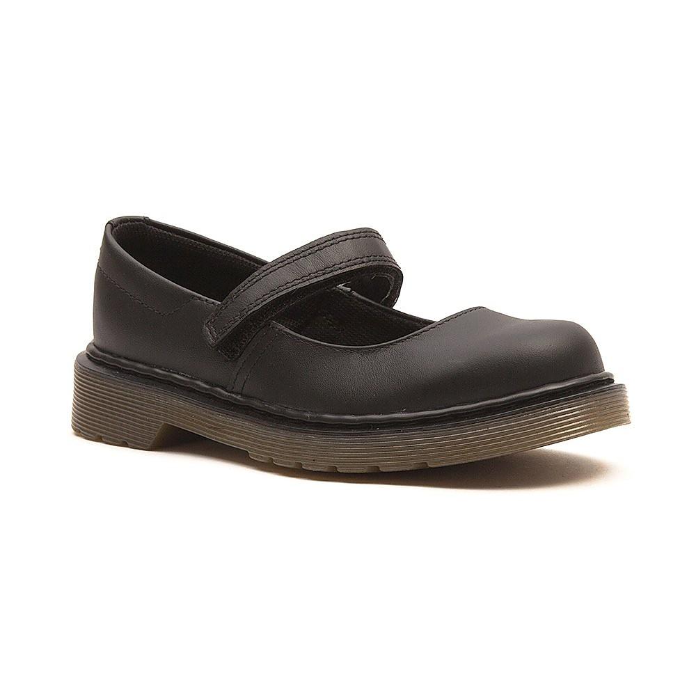 Dr Martens Kids Maccy Junior School Shoes - Black
