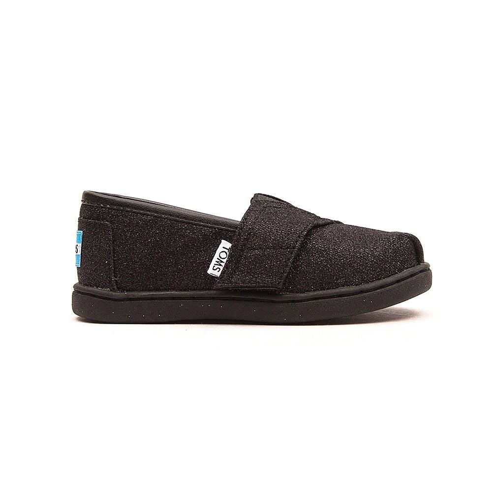 Toms Glimmers Infant shoes - Black